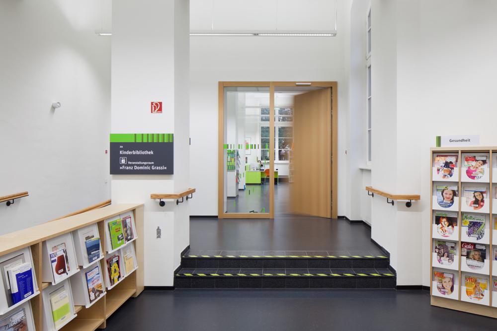 Architekturfotografie Leipzig basys bartels systembeschläge gmbh town library leipzig